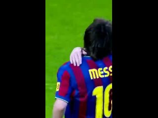 Lionel messi giving hug to his