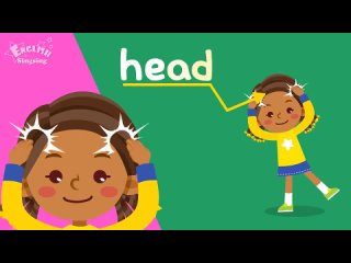 Kids vocabulary - Body - parts of the body