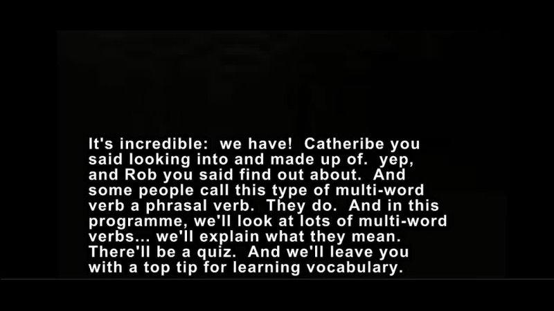 ENGLISH VOCABULARY 21 MULTY-WOOED WORDS