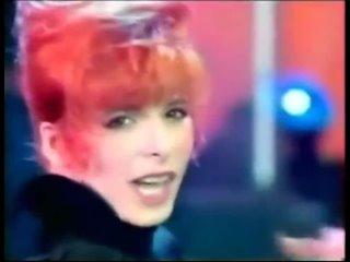 """Mylene Farmer - Милен Фармер - """"Pourvu qu'elles soient douces"""" - Программа """"Une Soiree Pour Les Restos"""" - Канал """"TF1"""" - 1988 год"""