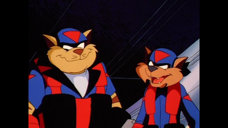 Коты быстрого реагирования Swat Kats The Radical Squadron Происхождение доктора Вайпера 10 Серия 2 Сезон