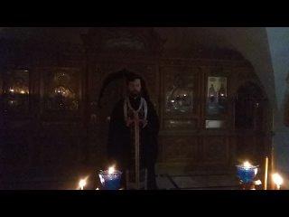 Проповедь в понедельник первой седмицы Великого поста свящ. Александр Сатомский .