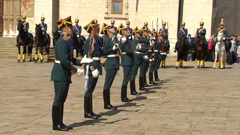Президентский полк Все красавцы удалые