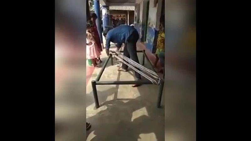 Вариант традиционной плетеной кровати из Индии dfhbfyn nhflbwbjyyjq gktntyjq rhjdfnb bp bylbb
