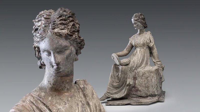 Греческий женский костюм Изящные одежды бессмертных богинь