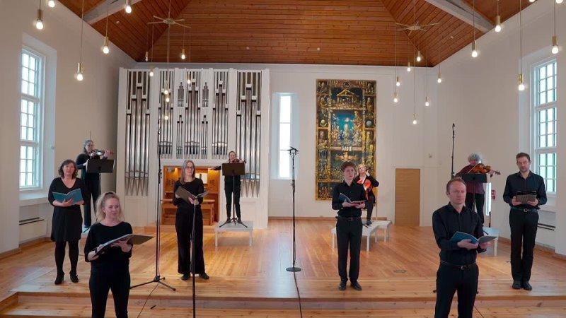 4 J. S. Bach - Christ lag in Todesbanden, BWV 4 - Collegium Vocale Bergen [Knut Christian Jansson]