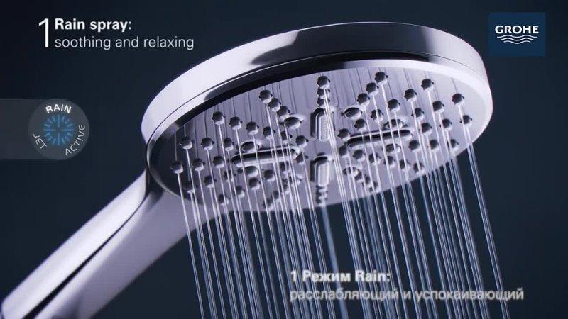 GROHE Rainshower SmartActive душ премиального немецкого качества