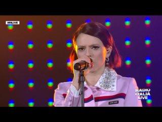 Fracnesca Michielin - Vulcano (Radio Italia Live 2021)