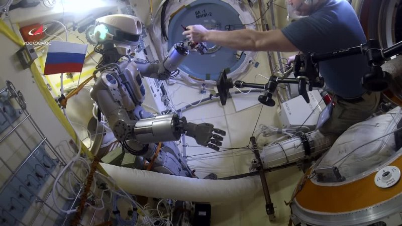 Космическая одиссея робота Федора