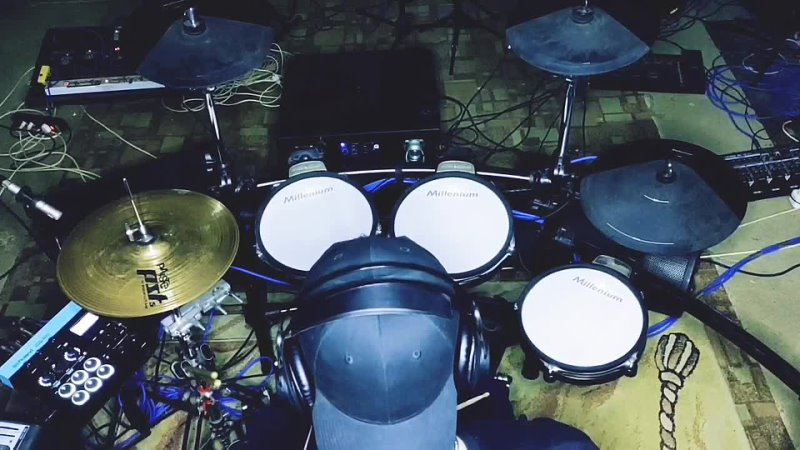 SOAD (drum cover) on a hybrid drumkit 😊