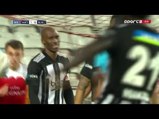 Чемпионат Турции 2020-21 23-й тур Антальяспор - Бешикташ 2 тайм