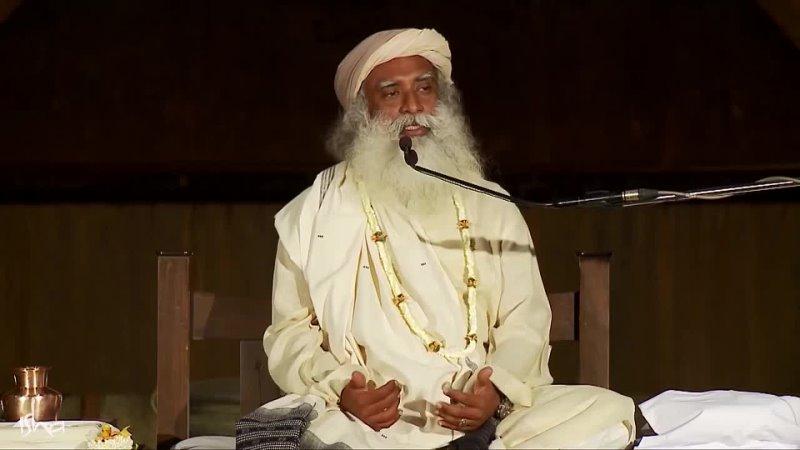 Садхгуру говорит что вся жизнь человека строится вокруг игры двух сил или инстинктов