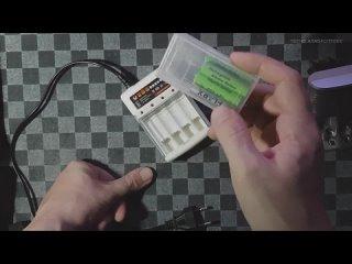 Зарядка для Alkaline (щелочных) батарей (аккумуляторов) с Aliexpress