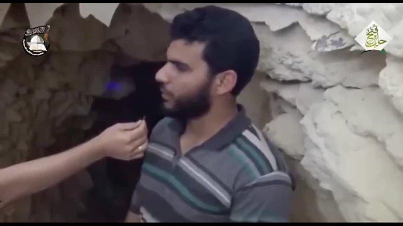 Подрыв туннельной бомбят под зданием контролируемым армией Алеппо Сирия 2016 год