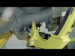 Porsche внедряет новый производственный процесс для Taycan