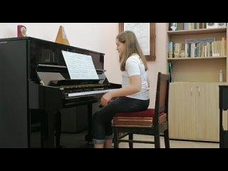 Гиззатуллина Алина В.А.Моцарт Сонатина С-dur
