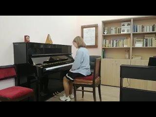 Анастасия Морозова И.С.Бах Трехголосная инвенция A-dur