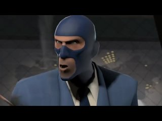 Did you know? Red Spy completes Blu Spy's sentence in Meet the Spy