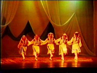 Хореографическая школа, отчетный концерт, 1991 год, 1-я часть