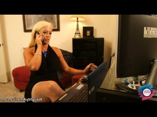 ALURA 'TNT' JENSON Fucking In The Chair With Her Tits