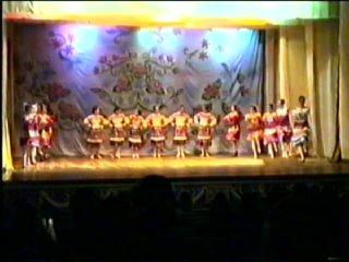 Хореографическая школа, отчетный концерт, 1991 год, 3-я часть
