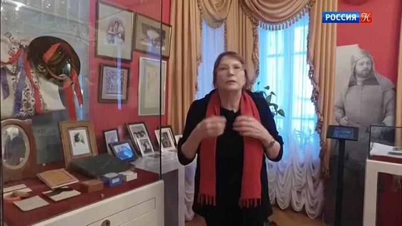 Леонид Собинов Дом музей в Ярославле Абсолютный слух ТК Культура 2021