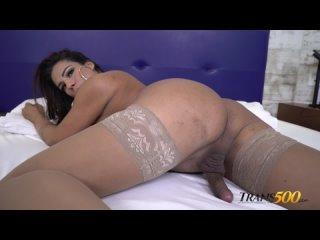TransAtPlay Trans500 Sabrina Alves - Simply Sabrina Shemale, Solo, Cumshot, Masturbation, Smoking, Stockings, SiteRip