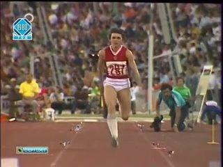 Олимпийские игры 1980. Легкая атлетика.