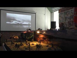 Открытие экспозиции «Бессмертные битвы наших земляков»
