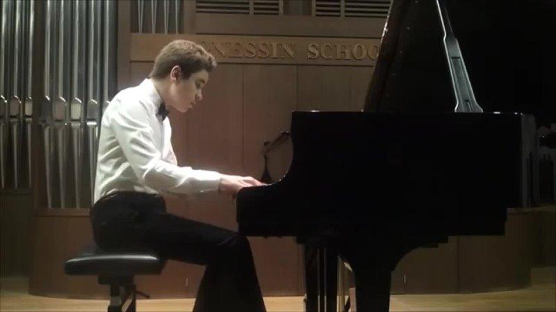 Артур Искоростенский фортепиано Шульц Эвлер Арабески вариации на темы вальса Штрауса На прекрасном голубом Дунае
