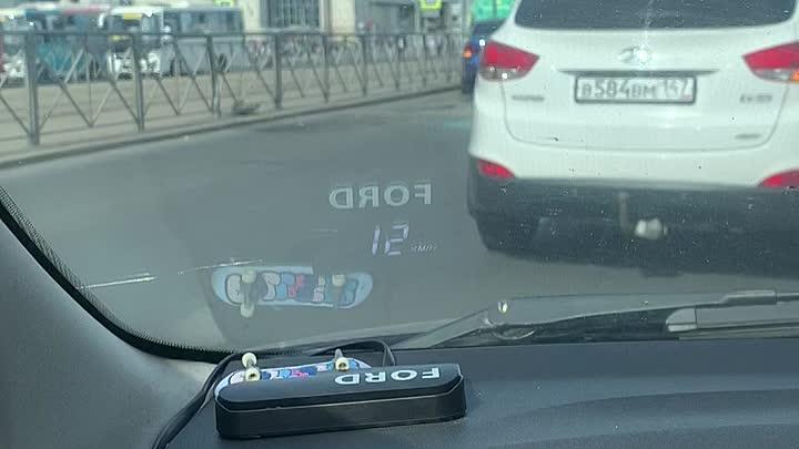 ДТП у метро Дыбенко на проспекте Большевиков.