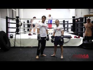 Нокаутирующая комбинация из двух ударов от чемпиона мира по боксу Дмитрия Кириллова и 4MMA  rjv,byfwbz bp lde[ elfh