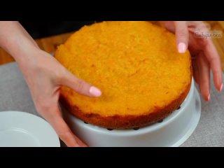 Эту морковную запеканку можно подавать и со сметаной и с шариком мороженого, получая восхитительный десерт!