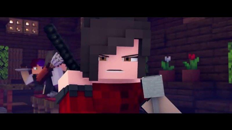[ДАМБО MUSIC] КОШМАРЫ - Майнкрафт Песня Музыка   NIGHTMARES НА РУССКОМ Minecraft Music Video