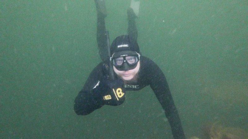 Дайвинг в Баренцевом море Китовая разведка в Русской Арктике Мурманск 2021 Под Ногами Небо Vlog 1