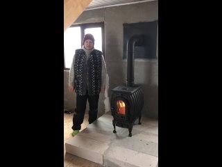 Отзыв на монтаж отопительно-варочной печи НМК Сибирь