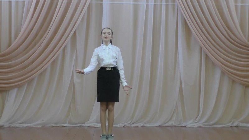 Ученица 5 Б класса МОУ СОШ № 2 р п Колышлей Пензенская область Алёна Селина
