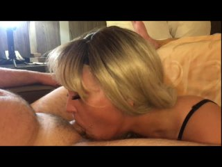Best Blowjob and Facefuck from a Blonde Slut