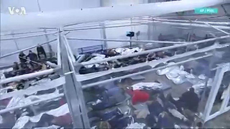 Кризис на границе центры временного содержания нелегальных мигрантов в Техасе переполнены