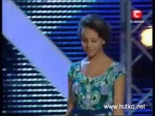 Наглядный пример того как подогревалась русофобия на украинском телешоу X - фактор. .mp4
