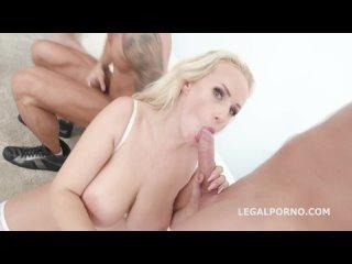 Angel Wicky - Interracial, Big tits, DAP, Gape, Lingerie, Anal