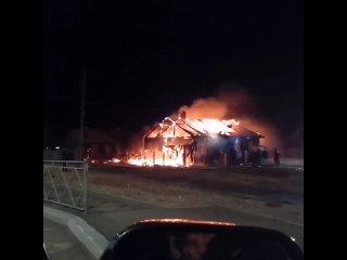 Один человек погиб при пожаре жилого дома на станции Мирная в Забайкалье