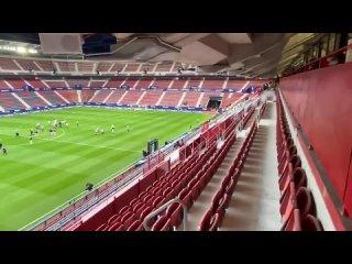 """На стадионе """"Осасуны"""" включили гимн ЛЧ"""