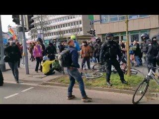 """Thomas """"Lorem Ipsum"""" Querdenken Watch! - 13:00 Bullen Prügeln Antifaschist:innen von der straße #ks2003 #Polizeigewalt"""