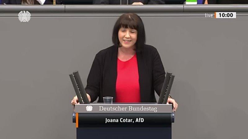 Klarer kann man Wahlversprechen nicht brechen Joana Cotar AfD Fraktion im Bundestag