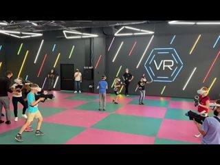 Первая арена от MARS VR