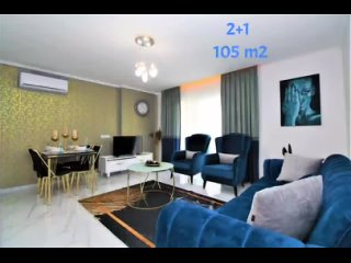 Роскошная 3-комнатная квартира в Махмутларе