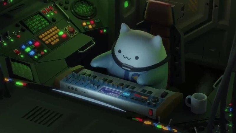 Bongo Cat покоряет космические просторы и играет космическую мелодию Resurrection Воскрешение