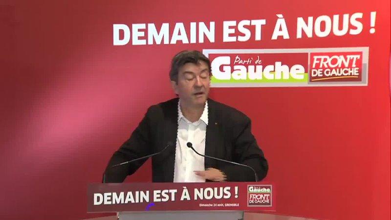 @Valeurs Il ny a pas si longtemps, @JLMelenchon, qui a visiblement la mémoire courte, appelait à linsurrection. Petit florilège
