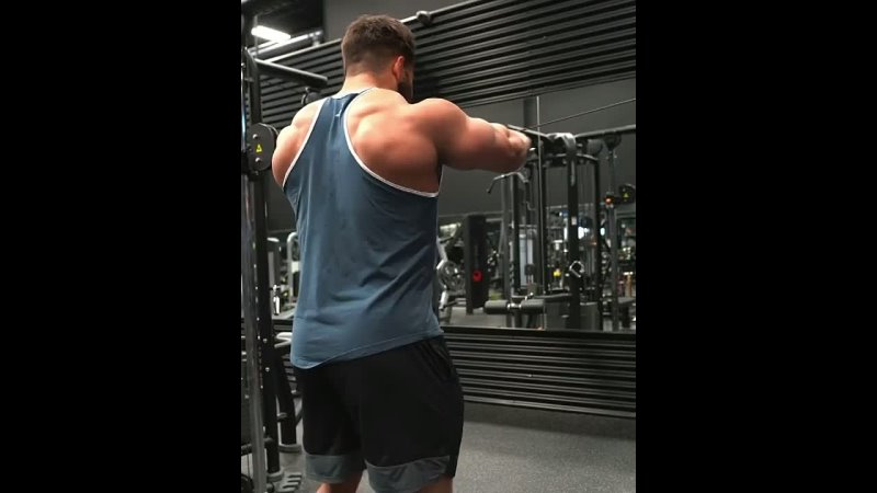 Regan Grimes. Rear delts.